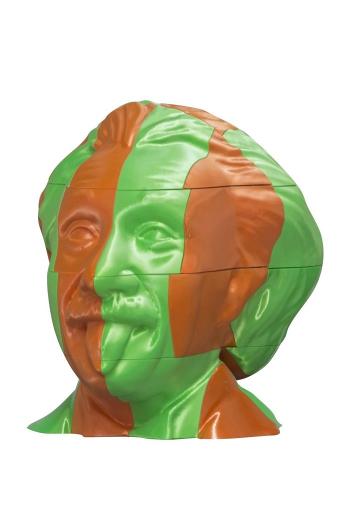 decorative busts home furnishing Genio 50x43x50 cm LG Art 02