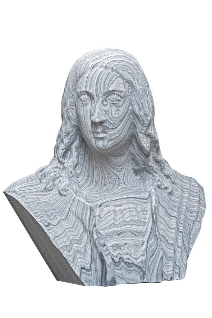 decorative busts home furnishing Raffaello 84x22x78 cm LG Art 04