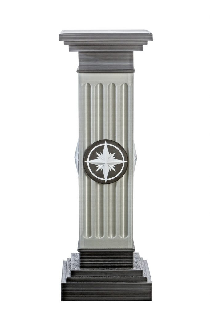 design home furnishing accessories column Roma 140x48x48 cm LG Art 11