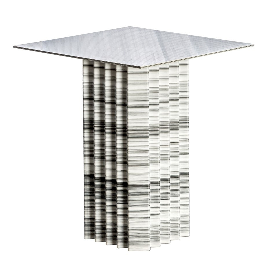 arredo design casa Art 43 Tavolino Squared 70x60 cm LG new
