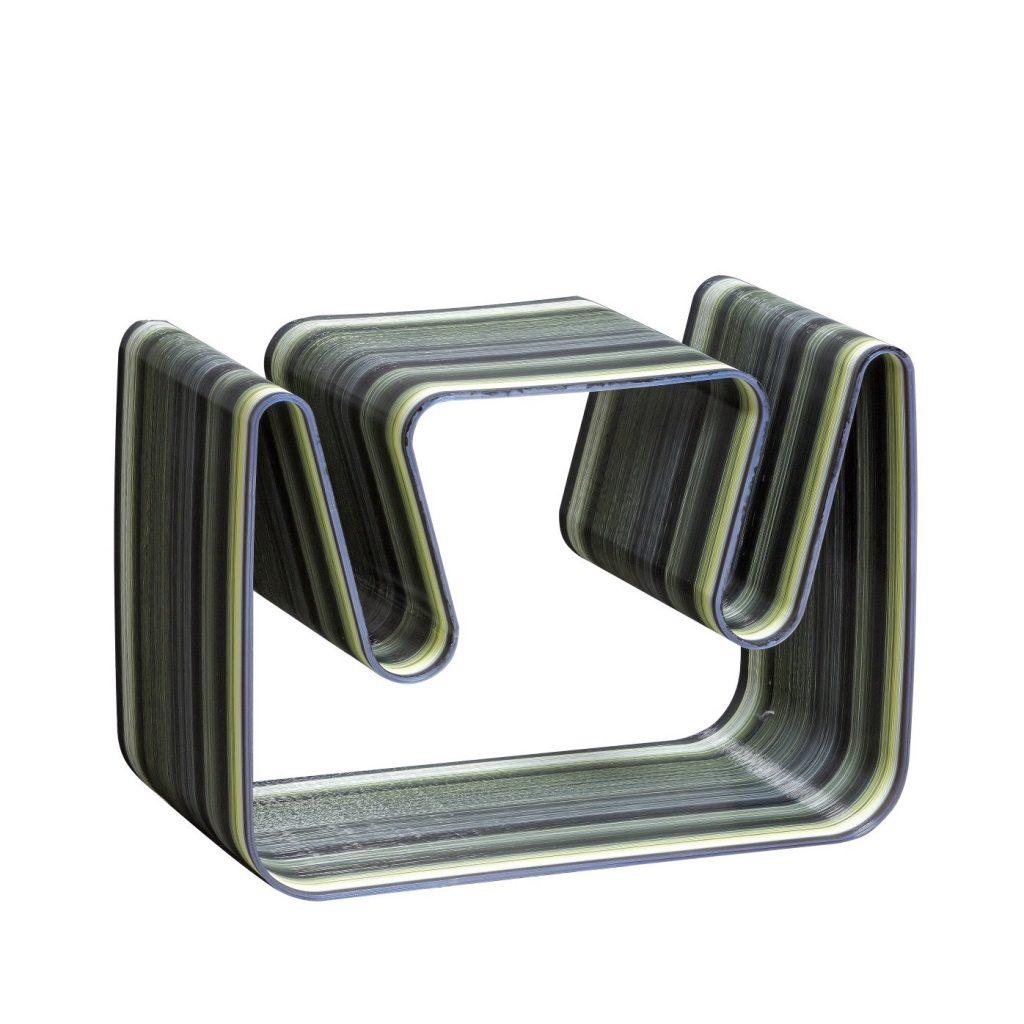 arredo design casa Art 44 Tavolino Onda 49x68x40 cm LG new
