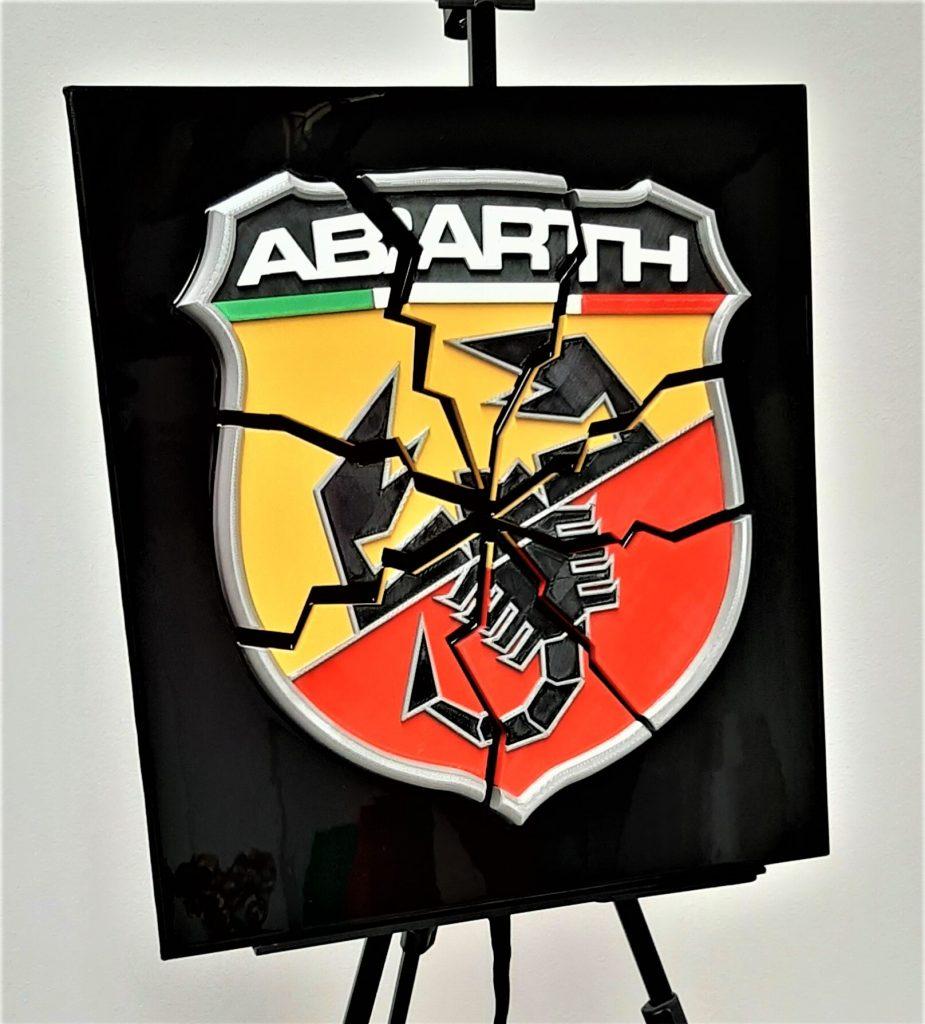 automotive brand crash Abarth crash