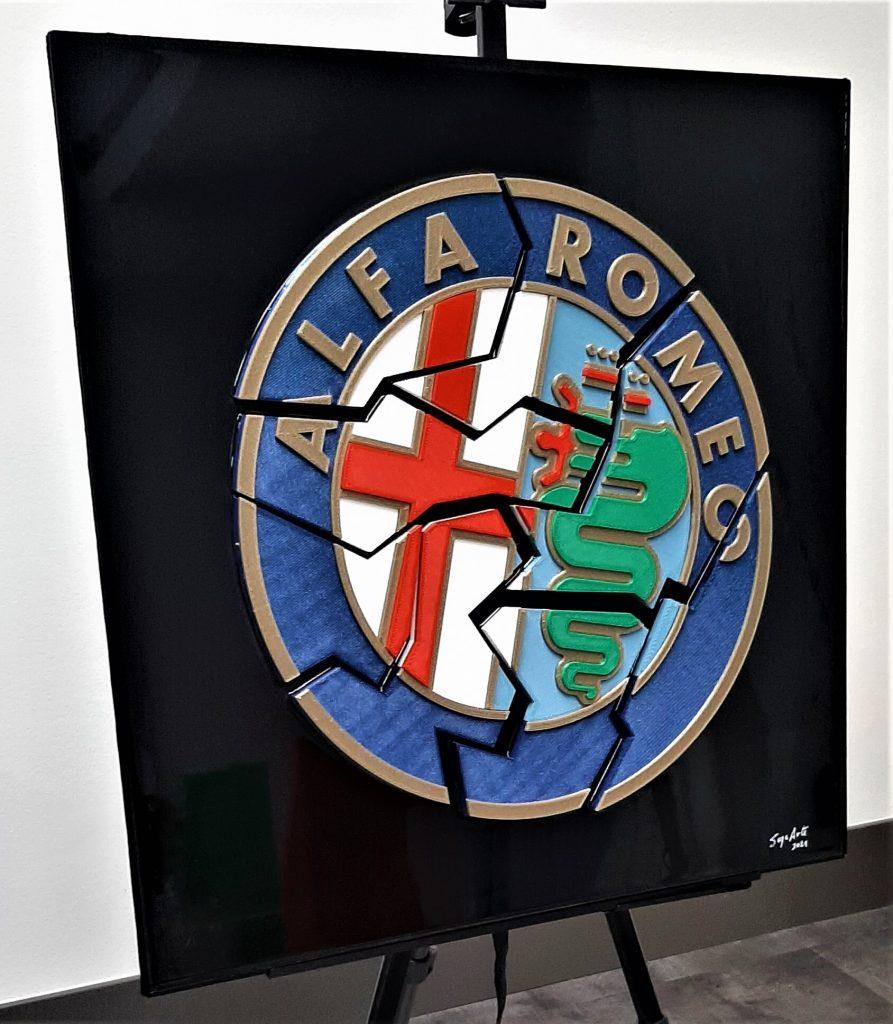 automotive brand crash Alfa Romeo crash
