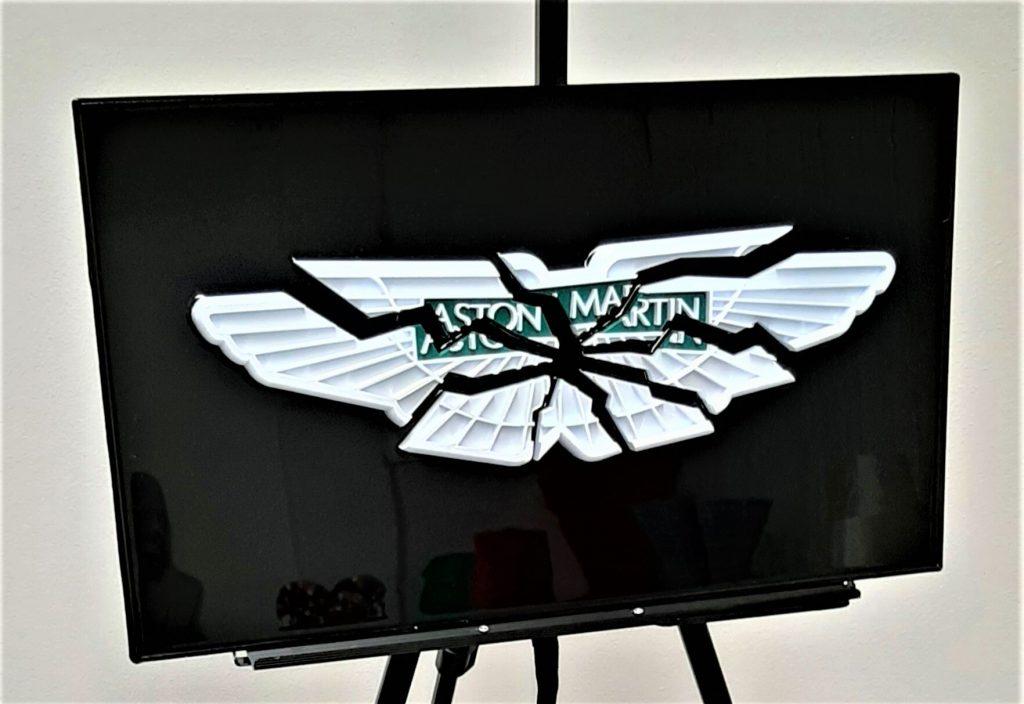 automotive brand crash Aston Martin crash
