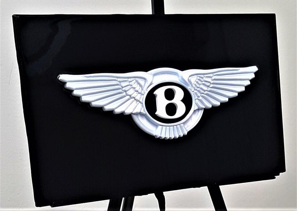 automotive brand crash Bentley logo