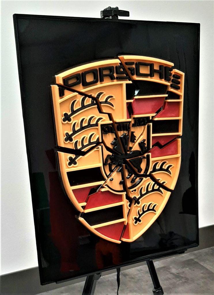 automotive brand crash Porsche crash