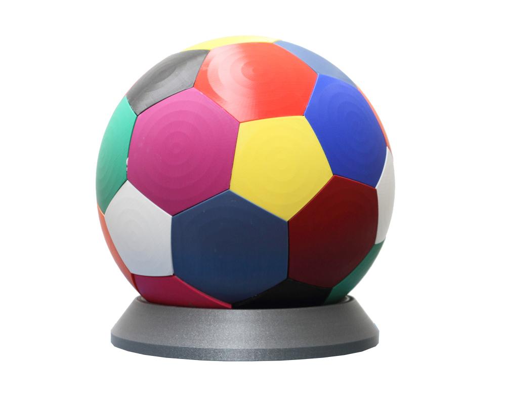 Complementi d'arredo made in Italy   Pallone multicolor